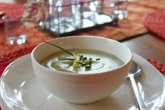 Potato, Cheddar and Chive Soup recipe | Cheddar, Potatoes and Soups