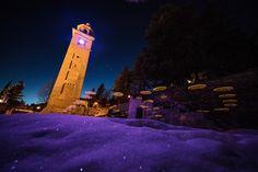 Ski Wm, St Moritz, San Francisco Ferry, Building, Travel, Light Installation, Switzerland, Frame, World