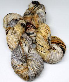 Squish DK: Super soft superwash Merino wool yarn dyed using professional acid dyes. Each skein is one of a kind!  Specs: 100%: Superwash Merino ★