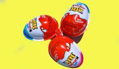 Kinder Surprise Eggs Superman Hello Kitty Magic Edition
