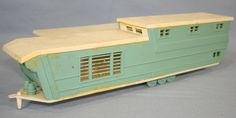 Vintage Mobile Home Parts | Unknown Vintage HO Plastic Mobile Home House Trailer Windows Doors ...