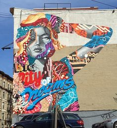 by Tristan Eaton in Little Italy, NYC, 4/15 (LP)