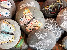 Butterfly Garden stones