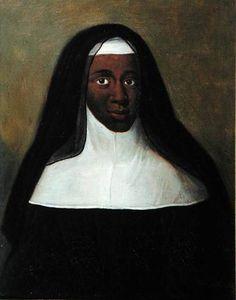 Soeur Louise Marie-Thérèse, religieuse de Moret (1664-1732) / Fille de la Reine Marie-Thérèse d'Autriche et de Louis XIV de France.