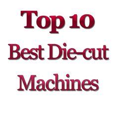 Top 10 die cut machines - which one? Die Cut Machines, Embossed Paper, Silhouette Vector, Teaching Art, Die Cutting, Silhouettes, Stamping, Vectors, Decals