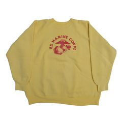 Vintage clothing, based in Whitby, North Yorkshire Marine Corps Sweatshirt, Boss Shirts, Outdoor Outfit, Fashion Colours, Hoodies, Sweatshirts, Put On, Knitwear, Vintage Outfits