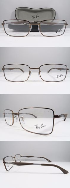 217b995d4efb6 Eyeglass Frames  Ray-Ban Rb 6284 2758 Bronze Grey Brown New Authentic  Eyeglasses 53Mm W Case -  BUY IT NOW ONLY   41.64 on eBay!