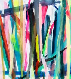 Untitled, acrylic on canvas by Arite Kannavos