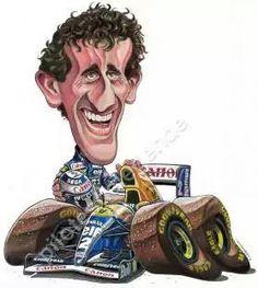 Alain Prost - Williams