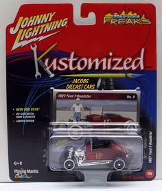 1:64 2016 JOHNNY LIGHTNING STREET FREAKS SERIES 2A -1927 FORD T-ROADSTER #9 #JohnnyLightning #Ford