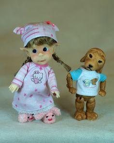 Wiggle & Goofball are up to something! http://www.BergemannDolls.com