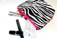 Zebra Cosmetic Makeup by KallieLilyS on Etsy