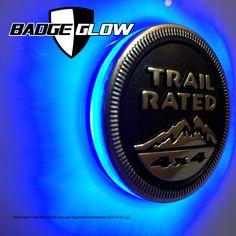 Badge Glow Blue LED Backlight | Badge Glow