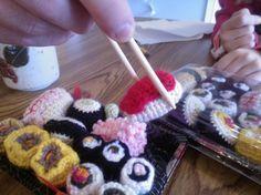#crochet  #amigurumi play sushi  So love this one