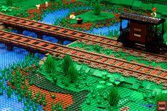 Intrastella AMRA 2012 #railway #lug #moc