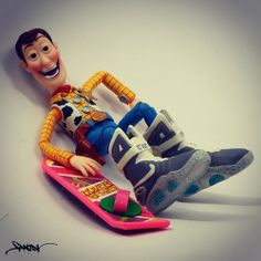 Woody is so McFly.