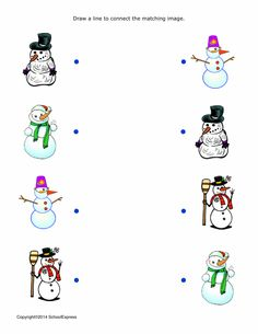 FREE worksheets, create your own worksheets, games. Art Activities For Toddlers, Educational Games For Kids, Christmas Activities For Kids, Winter Crafts For Kids, Preschool Christmas, Preschool Learning, Kindergarten Activities, Preschool Activities, Cute Christmas Ideas