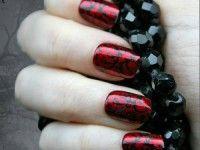 nail art rosse - Cerca con Google