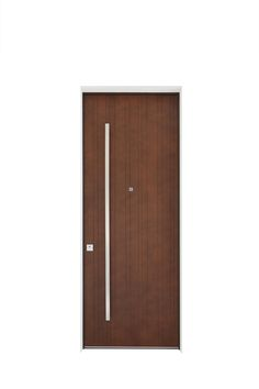 Grand Superior external door leaf composed by a Corten effect lacquer (on Okume)  sc 1 st  Pinterest & Superior: internal double door leaves composed by white lacquered ...