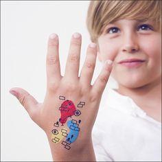 Bric Smile Tattoonie #temporarytattoo #tattoonie #t4aw #tattoos