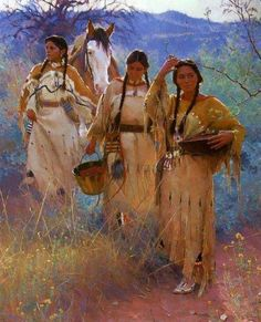 The Elders say Native American women will lead the healing among the tribes. We need to pray for our women and ask the Creator to bless them and give them strength. Inside them are the powers of love and strength given by the Moon and the Earth. When everyone else gives up, it is the women who sing the songs of strength. She is the backbone of the people. So, to our women we say, sing your songs of strength; pray for your special powers; keep our people strong; be respectful, gentle, and mod...
