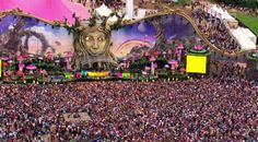 Keep calm and go  Tomorrowland festival