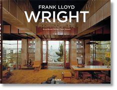 Frank Lloyd Wright - TASCHEN Books Frank Lloyd Wright, Usonian House, John Lautner, Prairie House, Richard Neutra, Concept Home, Thing 1, Famous Architects, Coffee Table Books