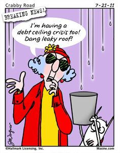 Leaky roof crisis.