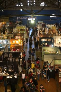 The Foundry Artists annual Christmas sale at the Pawtucket Armory