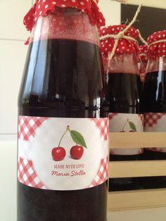 2015 sour cherries juice