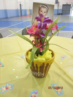 Centerpieces for Winnie the Pooh party...#Pin By:Pinterest++ for iPad#
