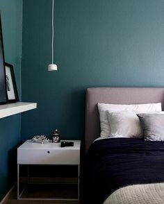 Schlafzimmer Petrol, Wohnen, Baum Schlafzimmer, Wandfarben Für  Schlafzimmer, Wandfarben, Gemütliches Schlafzimmer