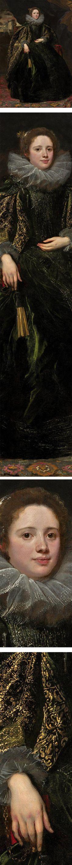 VAN DYCK Sir Antoon van Dyck - Flemish (Antwerpen 1599-1641 Londen) ~ Marchesa Balbi