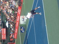Bravissimo Kei Nishikori,for his #1 at ATP Rakuten Japan Open! view from RADO royal box