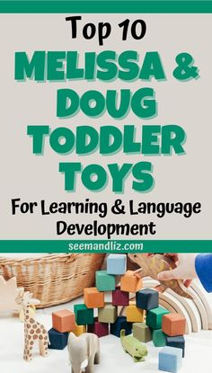 These are the best toddler Melissa and Doug toys for learning and language development. Find out the many skills your toddler can learn by playing with these simple toys! Toddler Learning Toys, Toddler Preschool, Toddler Toys, Fun Learning, Learning Activities, Activities For 2 Year Olds, Best Educational Toys, Autism Resources, Best Kids Toys