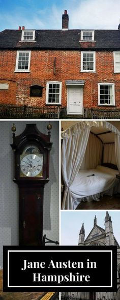 Jane Austen in Hampshire - a visit to the Jane Austen House Museum and to Winchester, where Jane Austen died