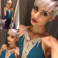 Pixie Cut by Jenny Schmidt Blonde Pixie Haircut hotonbeauty.com