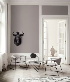 Couleur mur Living Spaces by SUITE New York modern family room Living Room Paint, Living Room Grey, Grey Room, Lounges, Gray Interior, Interior Design, Classic Interior, Modern Interior, Eclectic Modern
