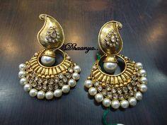 Mango Earl Earring-Jewellery-Dhaanya
