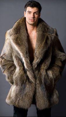 The Urban Gentleman: Men fur coats