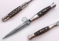 "8.50"" Custom Made Beautiful Damascus steel Letter Opener knife (FSL-082-64) #KnifeArtist"