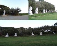 Buddha Eden - bustos de budas