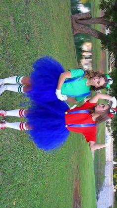 Mario and Luigi costumes!