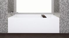 Description: Cube alcove bathtub WETMAR BiO™ (soy and mineral stone)  Wetstyle tub models include: - Free standing bathtubs - Drop in bathtubs - Alcove bathtubs - Oval tubs - Rectangular tubsRead More