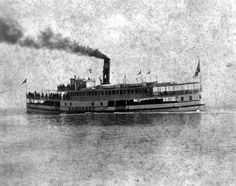 "Steamship ""Margaret"" on the Manatee River - Palmetto Region, Florida"