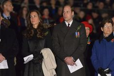Kate Middleton - The Royal Couple Attends Dawn Services