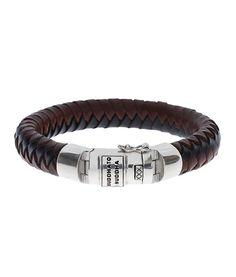 Buddha to Buddha 544MIX BEN BLACK BROWN armband op Sieradenloods.nl!