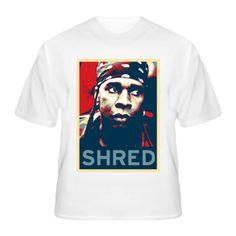 Vernon Reid Living Colour Guitar Shredder Hope Style T Shirt