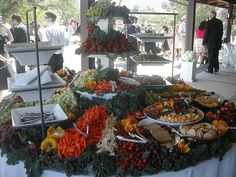 Morgan Hill Wedding Hors D'Oeuvres by michicat, via Flickr