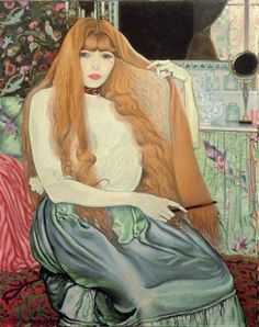 Woman Combing Her Hair, Louis Anquetin